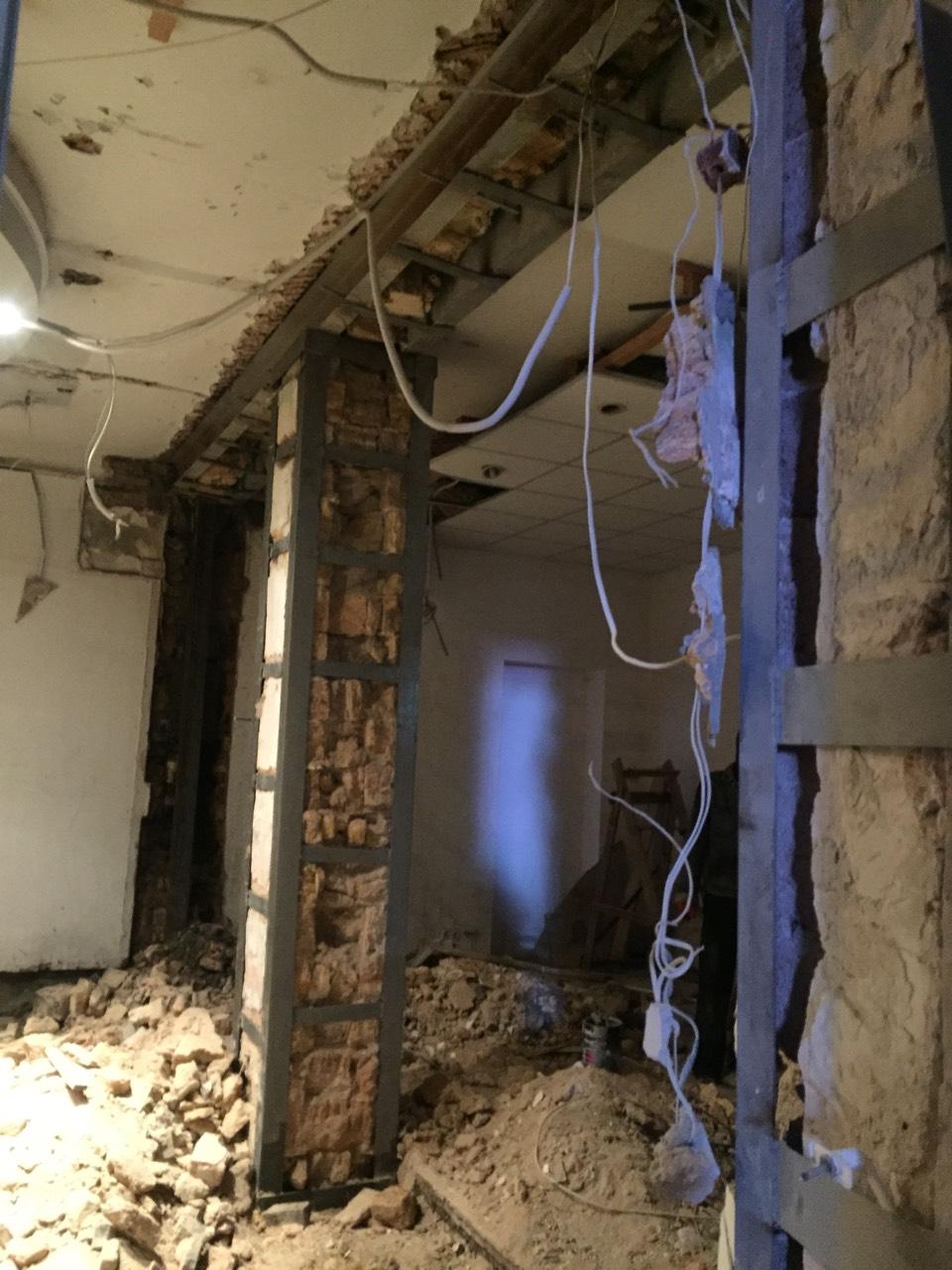 Сварка и усиление несущих стен проемов и перекрытий металлоконструкциями в Одессе и области рис.1