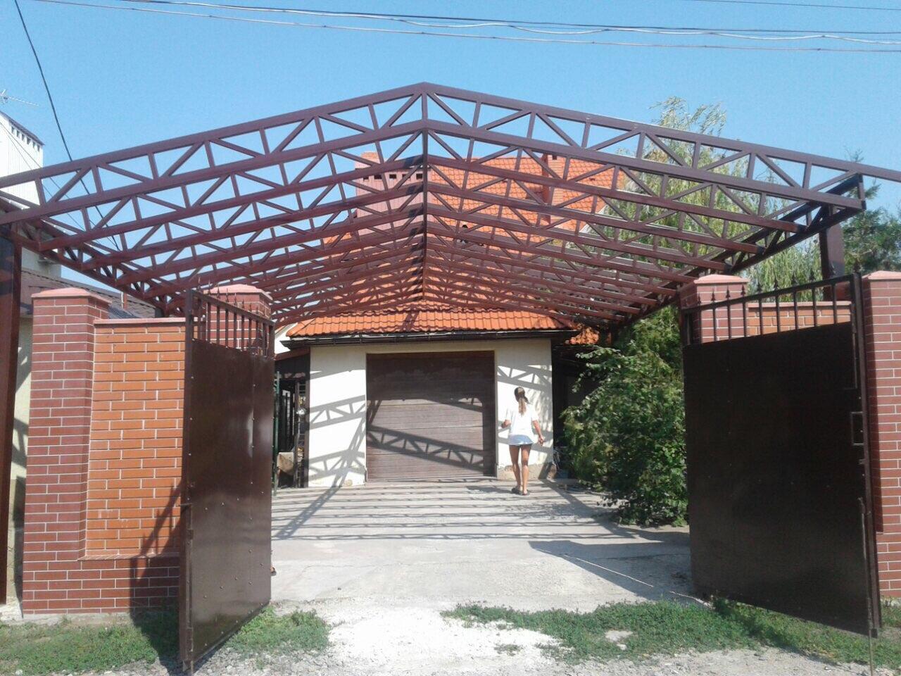 Сварка металлических калиток и ворот в Одессе и области рис.3