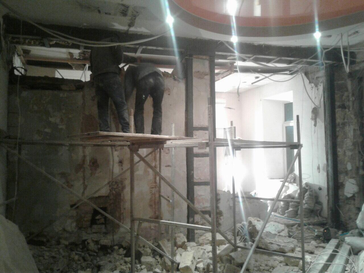 Сварка и усиление несущих стен проемов и перекрытий металлоконструкциями в Одессе и области рис.2