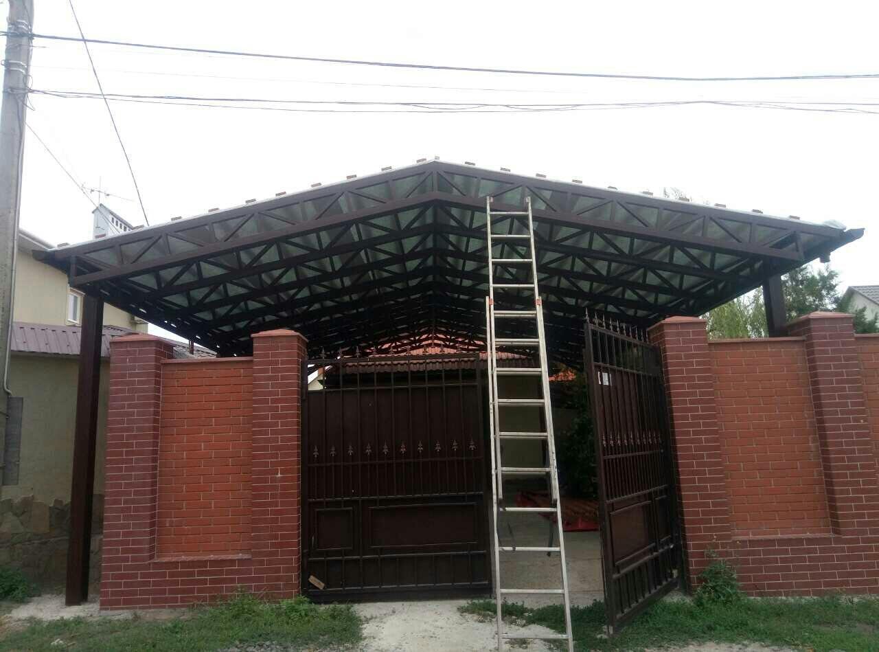 Металлические калитки и ворота в Одессе и Области рис.2