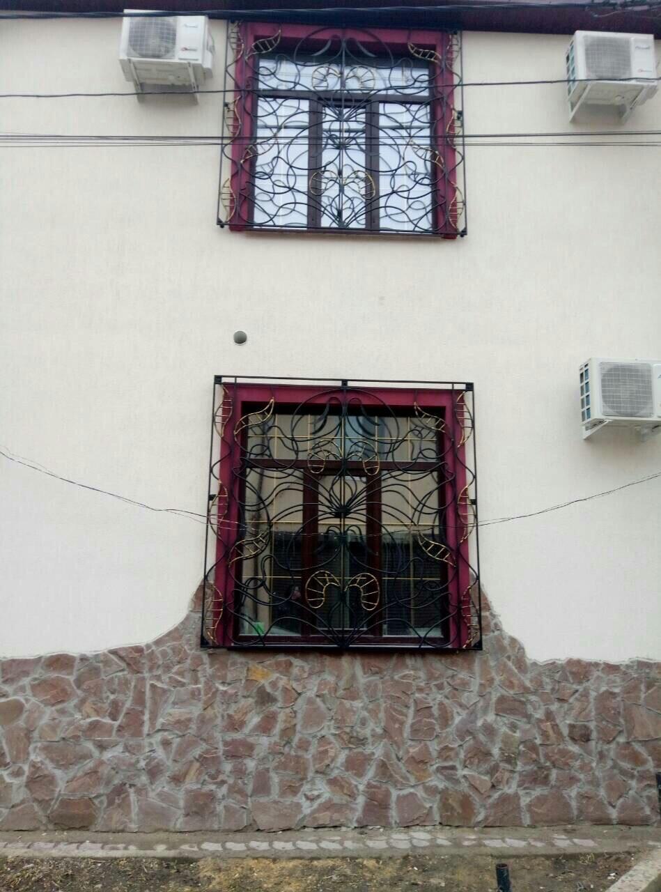 Сварные решетки на окна в Одессе и области рис.1