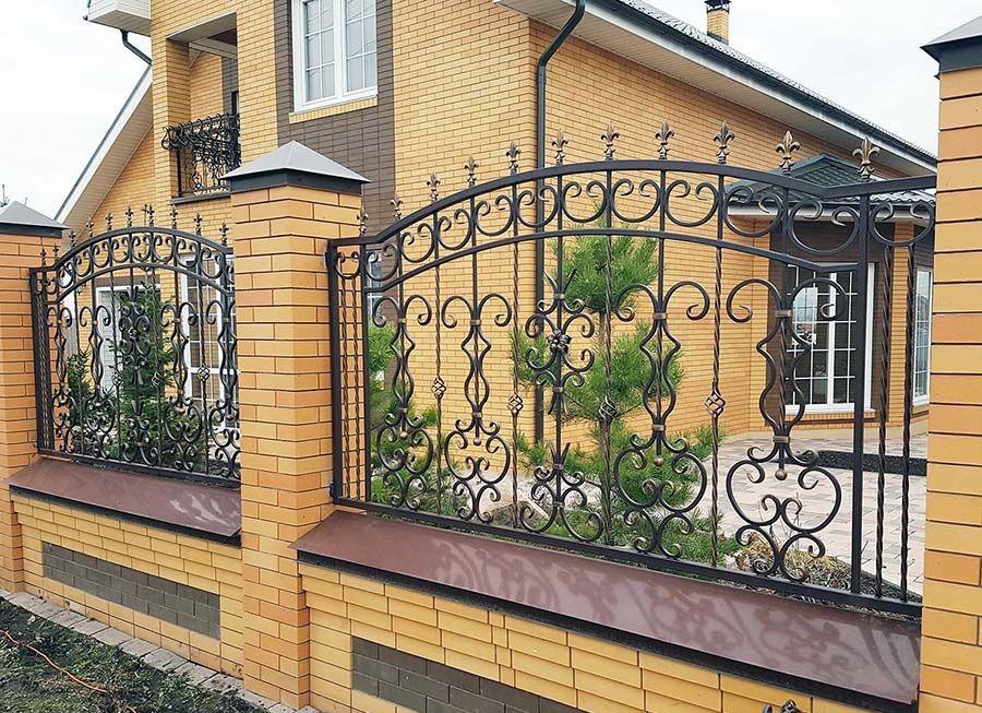 Изготовление и монтаж заборов под ключ от профессионалов в Одессе и области рис.1