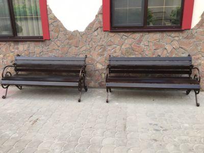 Сварочные работы, скамейки, фасад (фото 1х1)