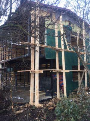 Каркасное строительство, утепление, кровля, фасадные работы  (фото id1037)