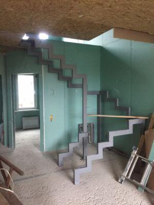 Каркасное строительство, гипсокартон, лестницы, сварочные работы, ремонт (фото id1086)