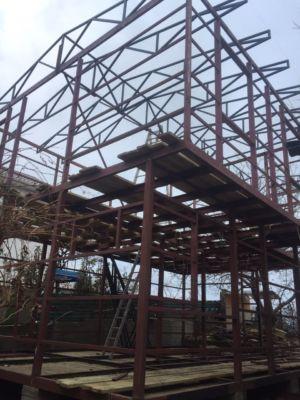 Каркасное строительство, сварочные работы, бетонные работы (фото id1056)