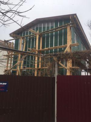 Каркасное строительство, утепление, кровля, фасадные работы  (фото id1039)