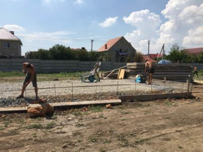 Бетонные работы - заливка фундамента Одесса (фото id3030)