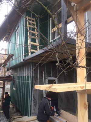 Каркасное строительство, утепление, кровля, фасадные работы  (фото id1044)
