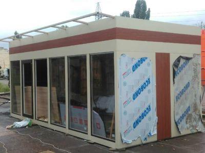 Каркасное строительство: магазины, киоски, павильоны в Одессе и области (фото 92)