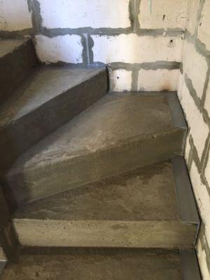 Бетонные работы - лестница (фото 7)