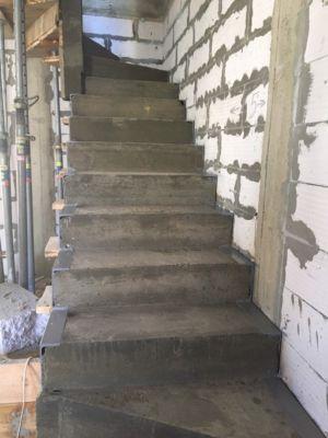 Бетонные работы - лестница (фото 6)