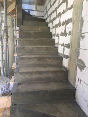 Бетонные работы - лестница (фото 5)