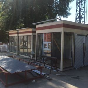 Сварочные работы - киоск, магазин, каркасное строительство Одесса (фото id3099)