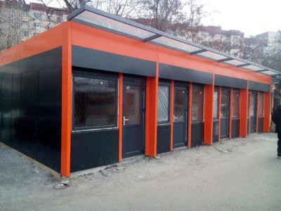 Каркасное строительство: магазины, киоски, павильоны в Одессе и области (фото 76)