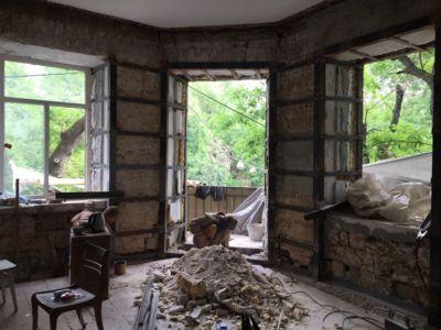 Демонтажно подготовительные работы - сварочные работы, усиление стен и реконструкция (фото 973)