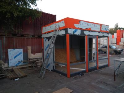 Каркасное строительство: магазины, киоски, павильоны в Одессе и области (фото 74)