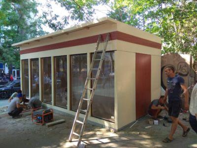 Каркасное строительство: магазины, киоски, павильоны в Одессе и области (фото 75)