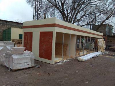 Каркасное строительство: магазины, киоски, павильоны в Одессе и области (фото 71)