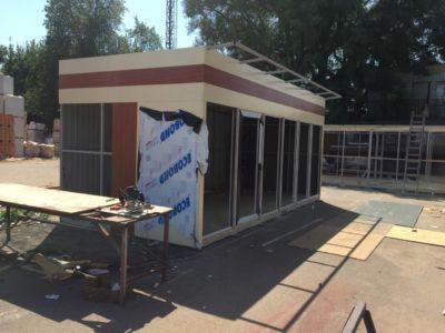 Каркасное строительство: магазины, киоски, павильоны в Одессе и области (фото 66)