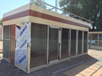 Каркасное строительство: магазины, киоски, павильоны в Одессе и области (фото 60)