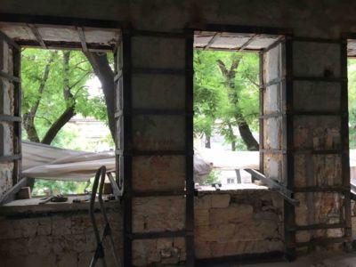 Демонтажно подготовительные работы - сварочные работы, усиление стен и реконструкция (фото 975)