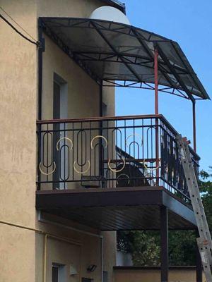 Сварочные работы - балкон, перила и ограждения, навес, козырек, укрепление и опоры  (фото 976)