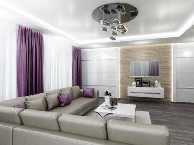 Дизайн интерьера квартир Одесса (фото 1)