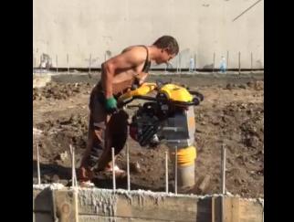 Бетонные работы в Одессе и области (видео 1)