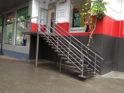 Наружные металлические лестницы в Одессе