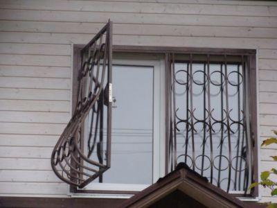 Распашные решетки в Одессе (фото 4)