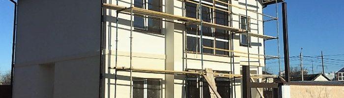 Фасадные работы в Одессе и области